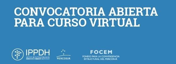 """Convocatoria abierta para el curso virtual """"Comunicación estratégica para los derechos humanos"""""""