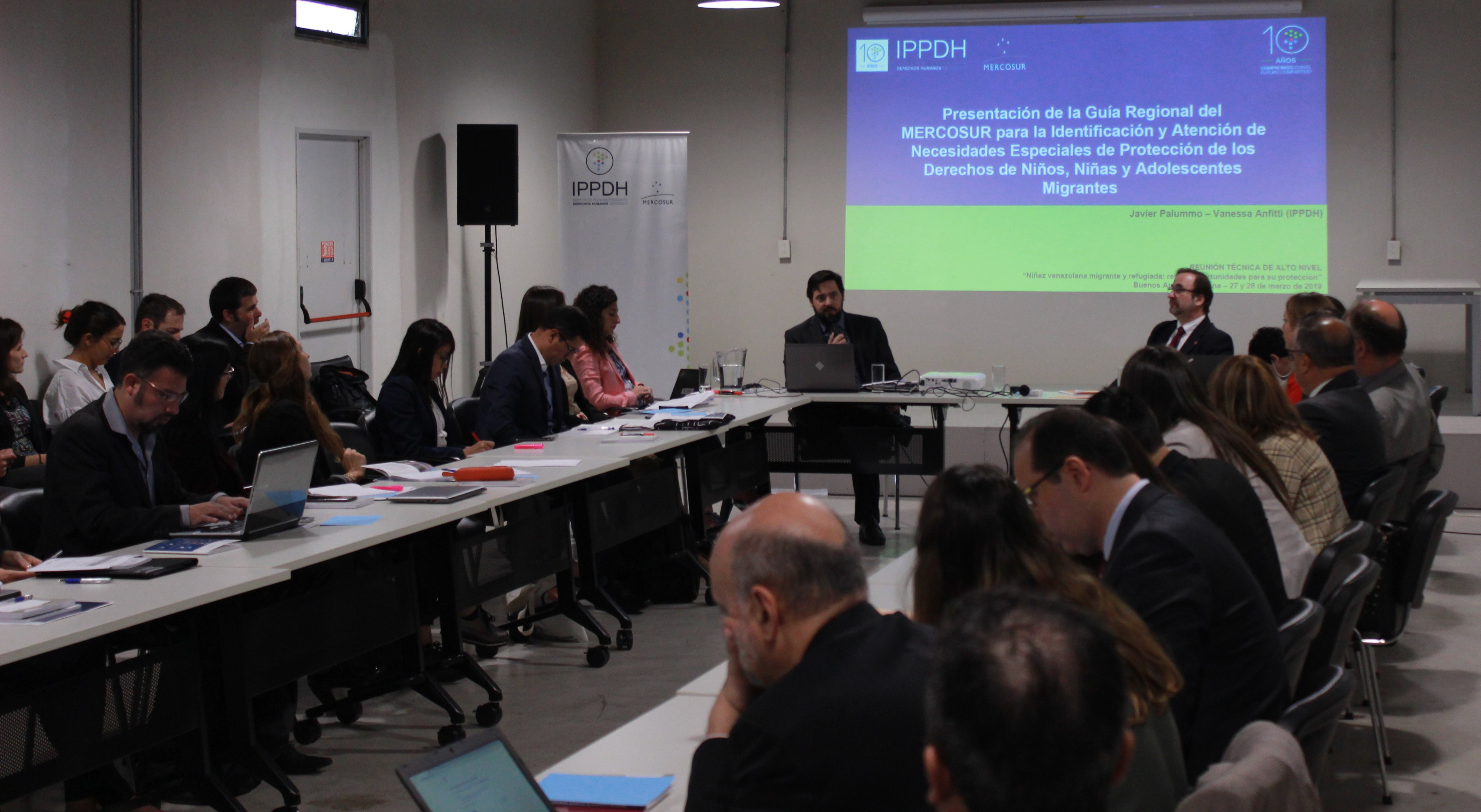 Autoridades de países de América del Sur junto a ACNUR, OIM, UNICEF y el IPPDH abordaron desafíos para la protección de la niñez venezolana migrante y refugiada
