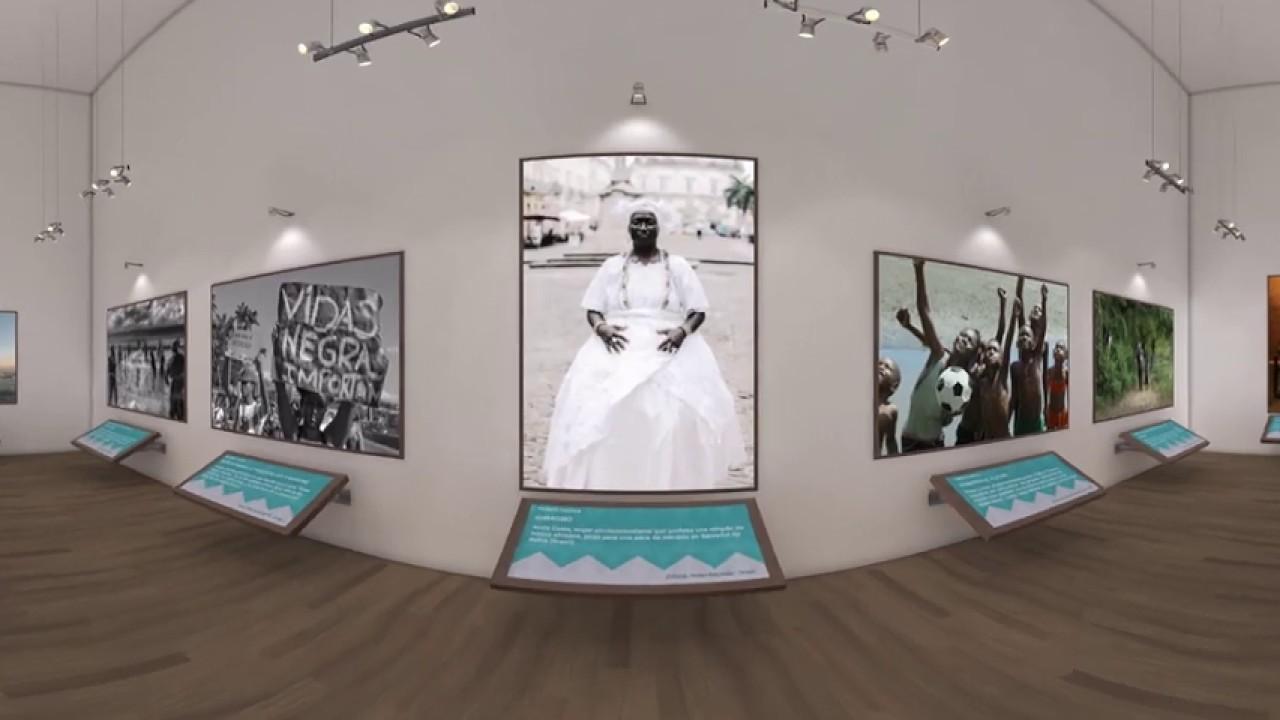 Exibição Fotográfica 360 VR: Afrodescendentes nas Américas será apresentada no IPPDH
