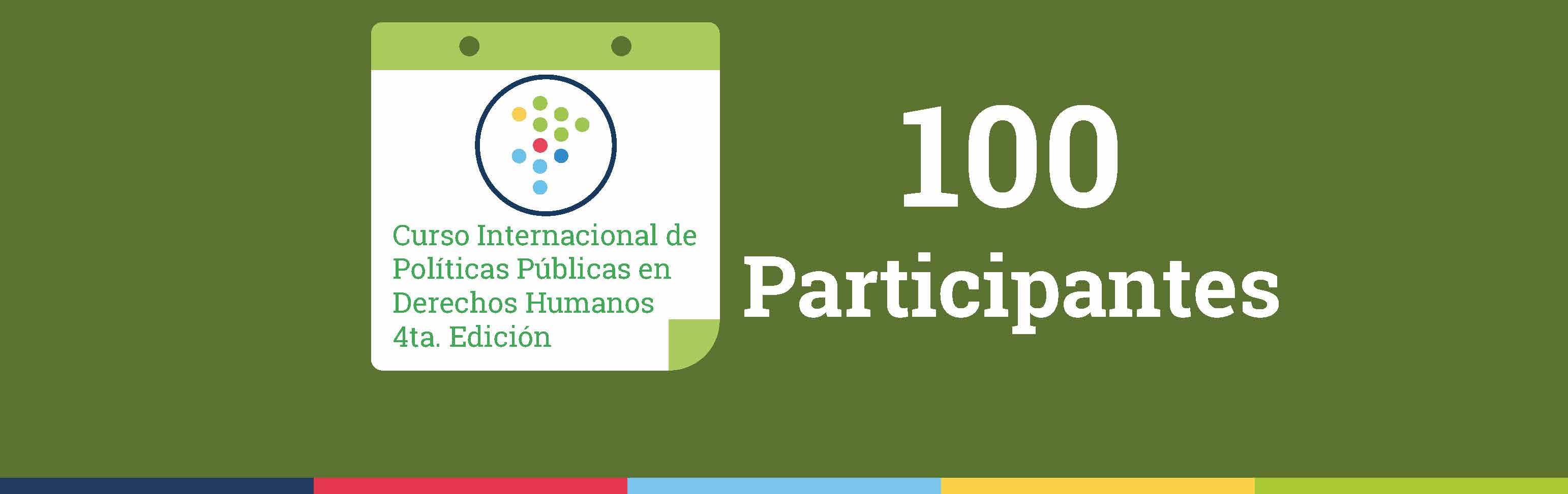 IPPDH y CIDH anuncian listado de las 100 personas seleccionadas para el Curso internacional 2019