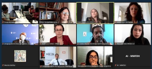 La XII RAFRO avanza en el acuerdo regional de políticas públicas para afrodescendientes en el MERCOSUR